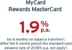 MyCard Rewards MasterCard